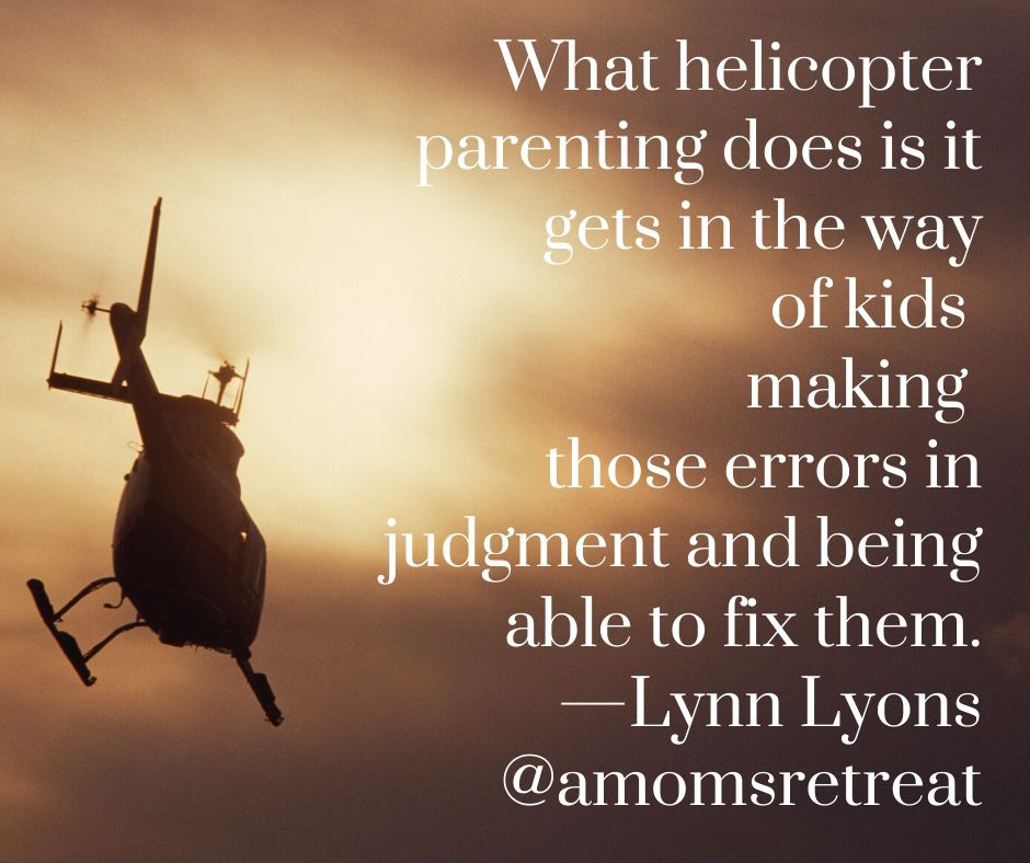 Helicopter Parents Definition